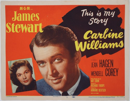 CARBINE WILLIAMS FILM POSTER 3