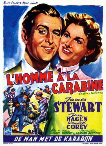 CARBINE WILLIAMS FILM POSTER 7