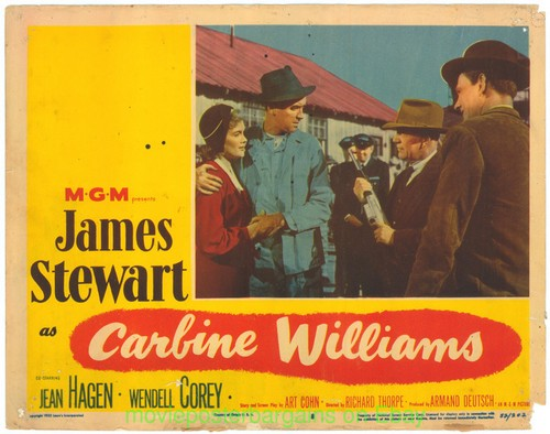 CARBINE WILLIAMS LOBBY CARD 5