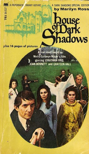 HOUSE OF DARK SHADOWS BOOK COVER