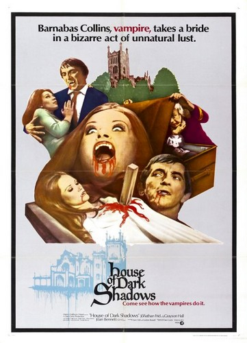 HOUSE OF DARK SHADOWS FILM POSTER 1