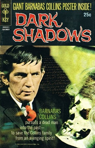 HOUSE OF DARK SHADOWS GOLD KEY COVER