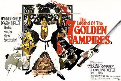 THE LEGEND OF THE 7 GOLDEN VAMPIRES FILM POSTER 1