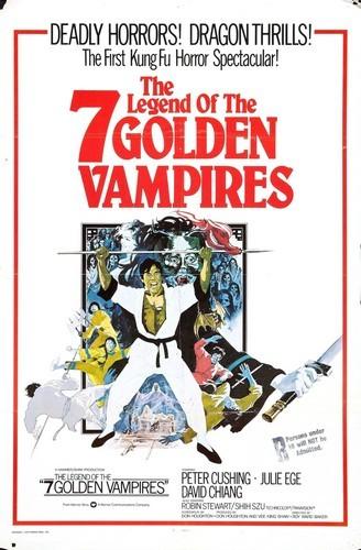 THE LEGEND OF THE 7 GOLDEN VAMPIRES FILM POSTER 3