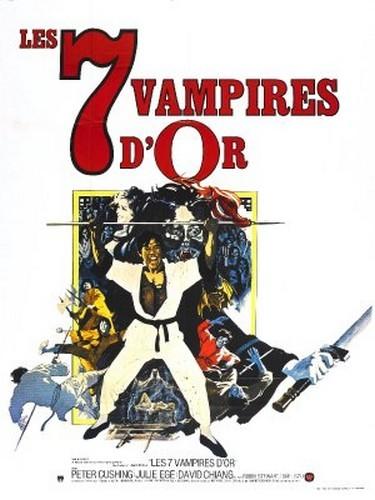 THE LEGEND OF THE 7 GOLDEN VAMPIRES FILM POSTER 5