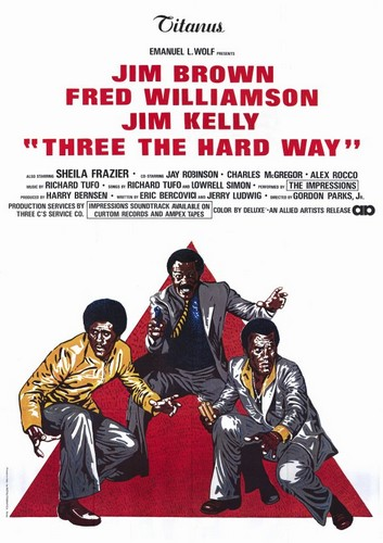 3 THE HARD WAY FILM POSTER 3