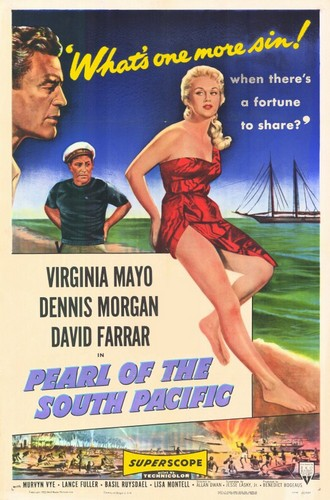 PEARL OF THE SOUTH PACIFIC(1955) FILM POSTER 1