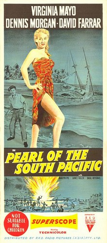 PEARL OF THE SOUTH PACIFIC(1955) FILM POSTER 2