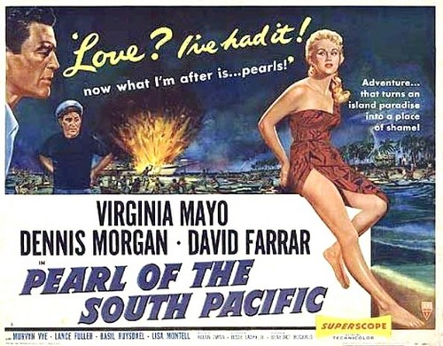 PEARL OF THE SOUTH PACIFIC(1955) FILM POSTER 4