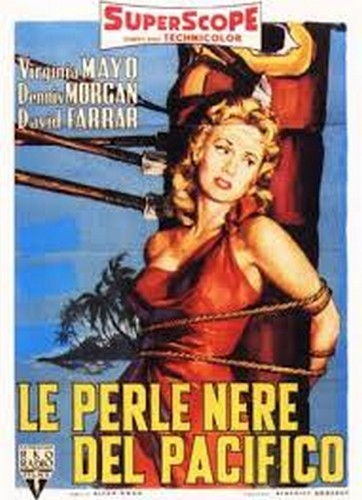 PEARL OF THE SOUTH PACIFIC(1955) FILM POSTER 5