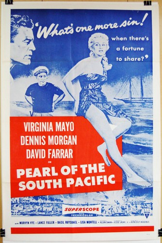 PEARL OF THE SOUTH PACIFIC(1955) FILM POSTER 7