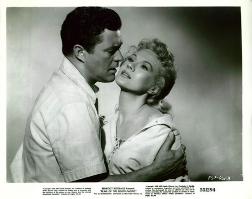 PEARL OF THE SOUTH PACIFIC(1955) LOBBY CARD 1