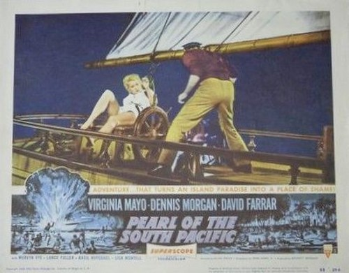 PEARL OF THE SOUTH PACIFIC(1955) LOBBY CARD 3.1