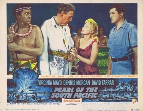 PEARL OF THE SOUTH PACIFIC(1955) LOBBY CARD 4