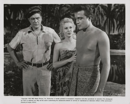 PEARL OF THE SOUTH PACIFIC(1955) LOBBY CARD 5