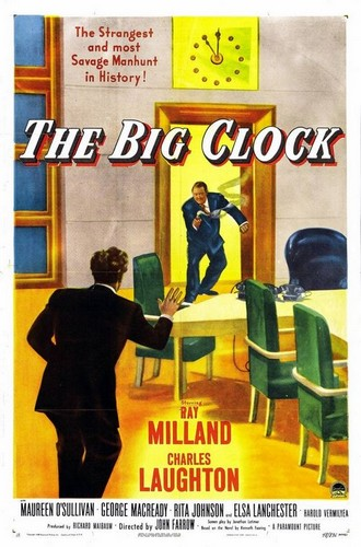 THE BIG CLOCK FILM POSTER 1