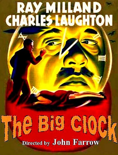 THE BIG CLOCK FILM POSTER 8