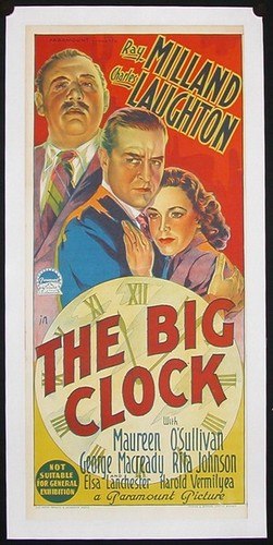 THE BIG CLOCK FILM POSTER 9