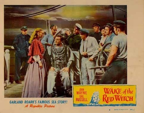 THE WAKE OF THE RED WITCH LOBBY CARD 1
