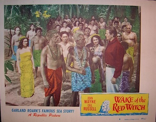 THE WAKE OF THE RED WITCH LOBBY CARD 4