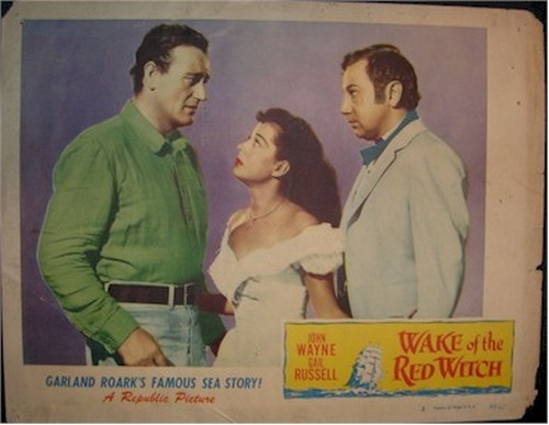 THE WAKE OF THE RED WITCH LOBBY CARD 5