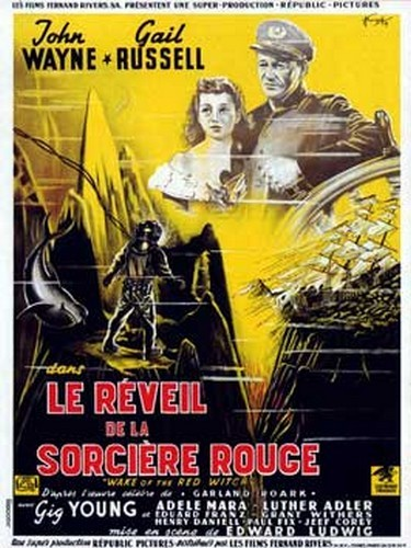 THE WAKE OF THE RED WITCH(1948) FILM POSTER 2