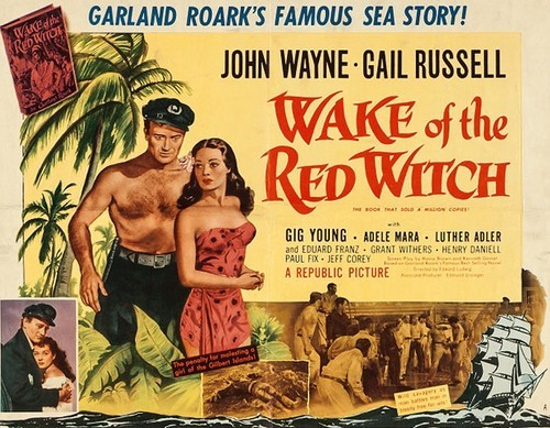 THE WAKE OF THE RED WITCH(1948) FILM POSTER 4