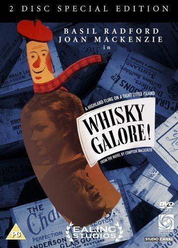 WHISKEY GALORE DVD COVER