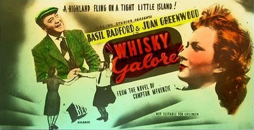 WHISKEY GALORE FILM POSTER 1