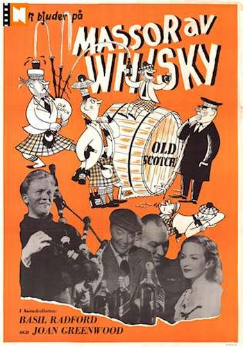 WHISKEY GALORE FILM POSTER 10