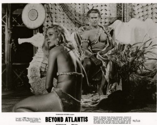 BEYOND ATLANTIS LOBBY CARD 1