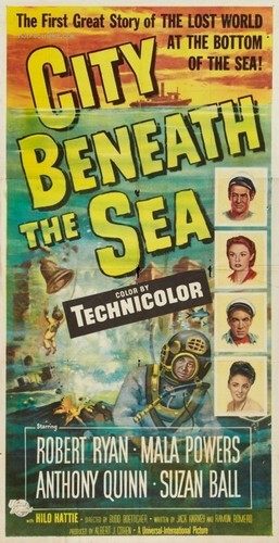 CITY BENEATH THE SEA FILM POSTER 10