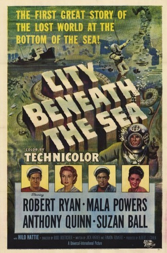 CITY BENEATH THE SEA FILM POSTER 2