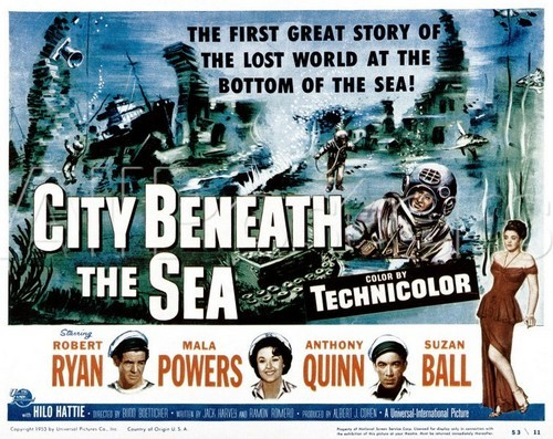 CITY BENEATH THE SEA FILM POSTER 9