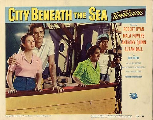 CITY BENEATH THE SEA LOBBY CARD 2