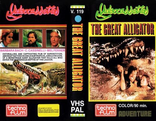 IL FIUME DEL GRANDE CAIMANO(1979) VHS COVER 1