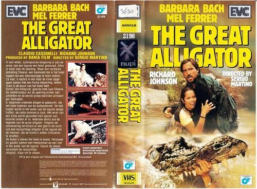 IL FIUME DEL GRANDE CAIMANO(1979) VHS COVER 2
