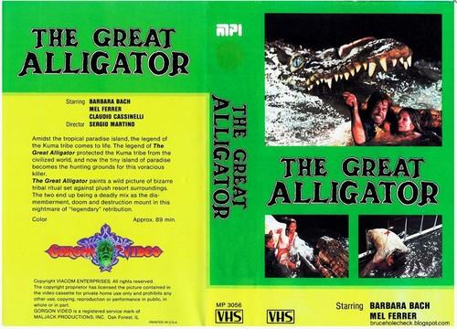 IL FIUME DEL GRANDE CAIMANO(1979) VHS COVER 3