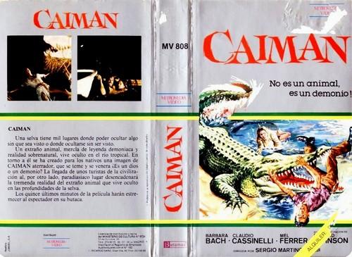 IL FIUME DEL GRANDE CAIMANO(1979) VHS COVER 4