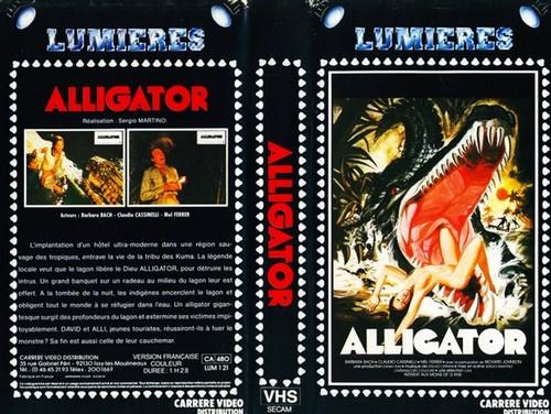 IL FIUME DEL GRANDE CAIMANO(1979) VHS COVER 5