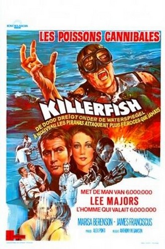 KILLER FISH FILM POSTER 1