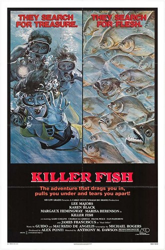 KILLER FISH FILM POSTER 2