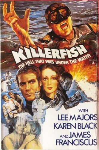 KILLER FISH FILM POSTER 4