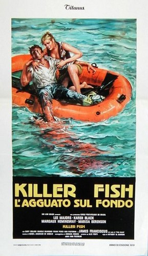 KILLER FISH FILM POSTER 6