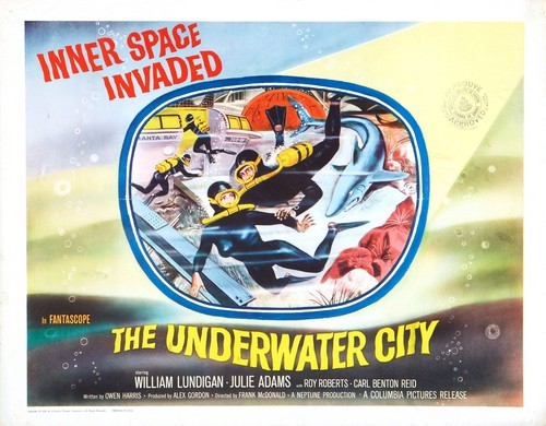 THE UNDERWATER CITY FILM POSTER 1