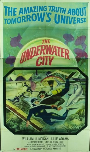 THE UNDERWATER CITY FILM POSTER 2