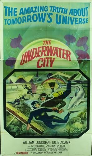 THE UNDERWATER CITY FILM POSTER 2