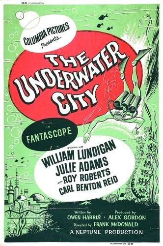 THE UNDERWATER CITY FILM POSTER 3