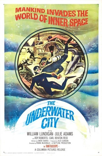 THE UNDERWATER CITY FILM POSTER 4