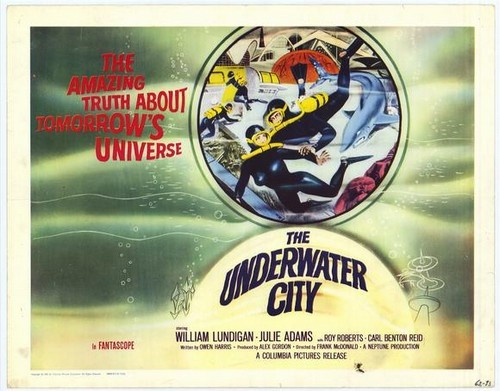 THE UNDERWATER CITY FILM POSTER 5